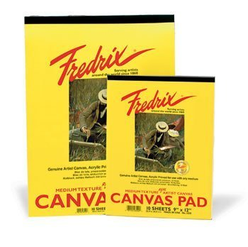 Fredrix Canvas Pad - 8 x 10in (20.3 x 25.4cm) by Fredrix by Fredrix