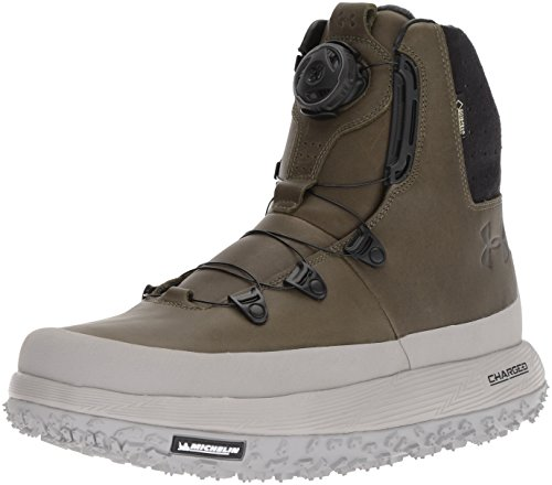 Image of Under Armour Men's Fat Tire Govie BOA Hiking Boot, Marine Od Green (300)/Tin, 14