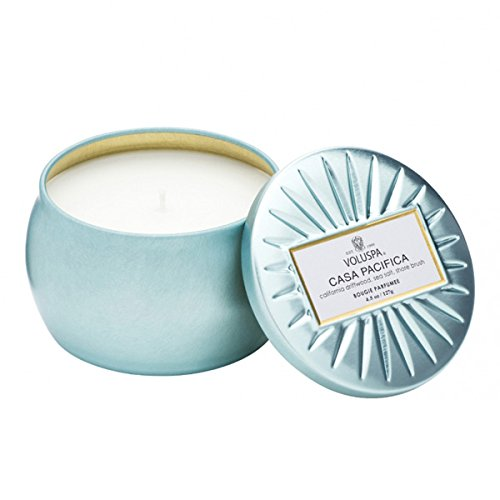 Voluspa Casa Pacifica Petite Tin Candle, 4 Ounces (Casa Candle)