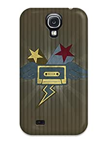 Brand New S4 Defender Case For Galaxy (cassette Music People Music)