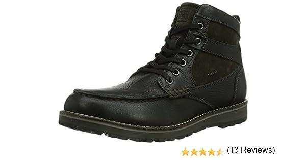Geox U Highland A, Botines para Hombre, Black/Mudc 9355, 42.5 EU: Amazon.es: Zapatos y complementos