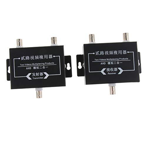 Baosity 2Pcs Industrial Surveillance Video Multiplexer 2Way Signal Receiver Transmitter by Baosity (Image #5)