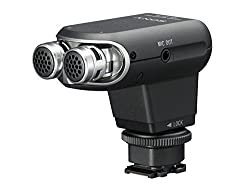 Sony Ecmxyst1m Stereo Microphone (Black)