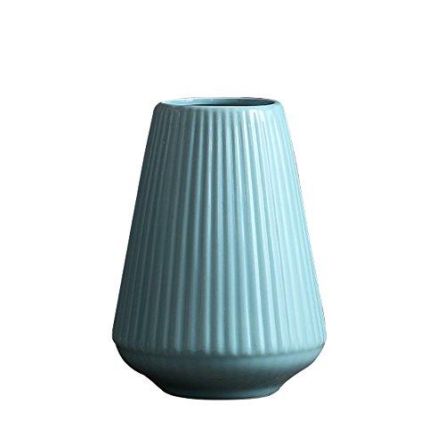 Jomop Minimalist Ceamic Flower Vase Modern Home Decor