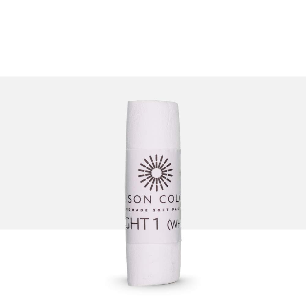 Soft Pastel Single Light 1 White Unison