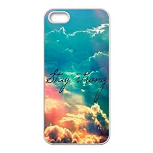 Cool Painting Stay Strong Original New Print DIY Phone Case for Iphone 5,5S,personalized case cover case608449