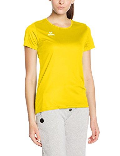 T-shirt Femme Erima Fonctionnel Teamsport jaune