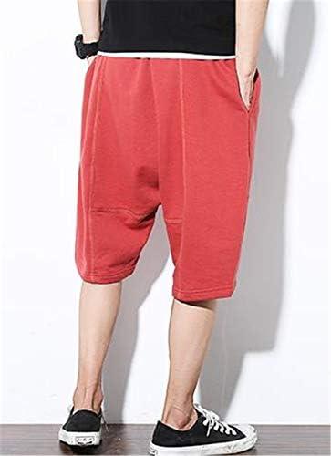 [ベィジャン] メンズ サルエルパンツ 七分丈 ヒップホップ かっこいい アウトドア スポーツ 半パンツ ハーフパンツ ショートパンツ ゆったり カジュアル 夏 おしゃれ 大きいサイズ
