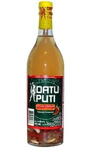 Datu Puti White Vinegar Spiced Sukang Maasim, 25 Ounce