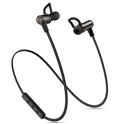 ACORCE Bluetooth Headphones, Wireless Bluetooth 4.1 Headphones Magnetic Sweatproof Noise Cancelling in Ear Earbuds Earphones Headset with Mic Microphone for iPhone and Android