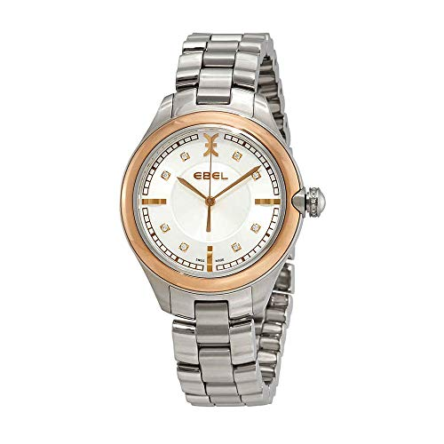 (Ebel Onde White Mother of Pearl Dial Ladies Watch 1216240 )