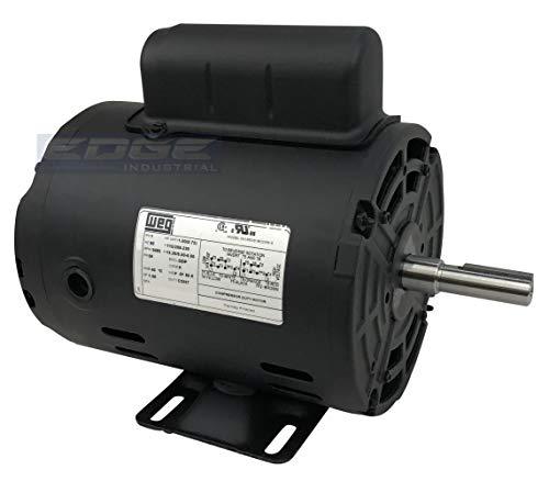 New WEG 1HP Electric Motor Fan Pump 56 frame 3480 rpm 1 phase 115/230 volt ()