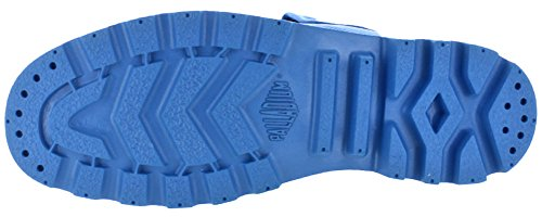 Botas De Tobillo De Combate Paladium Mono Chrome Baggy Para Hombre Victoria Blue
