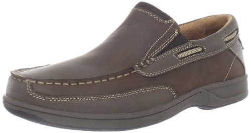 Florsheim Men's Lakeside Slip Boat Shoe,Stone,8.5 W US ()