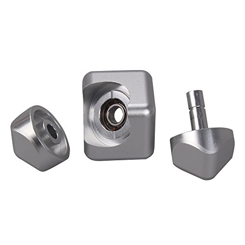 Hand Spinner Fidget Toy,Gemwon New Cube Hand Spinner Metal Tri Fidget Focus Tool Desk Toy EDC Cube Square Gift (Silver)