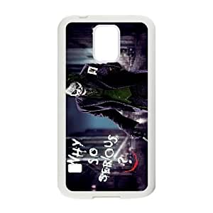 Personalized Durable Cases Samsung Galaxy S5 I9600 White Phone Case Ajkyc Joker Heath Ledger Protection Cover