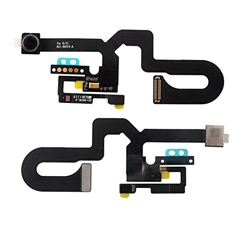 Flex Cable Module (ISHOPRO Replacement Proximity Sensor Light Motion Flex Cable with Front Face Camera with microphone for Iphone 7 PLUS 5.5