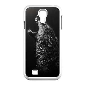 Black Wolves Unique Design For CaseSamSung Galaxy S4 I9500, New Fashion Black Wolves Case