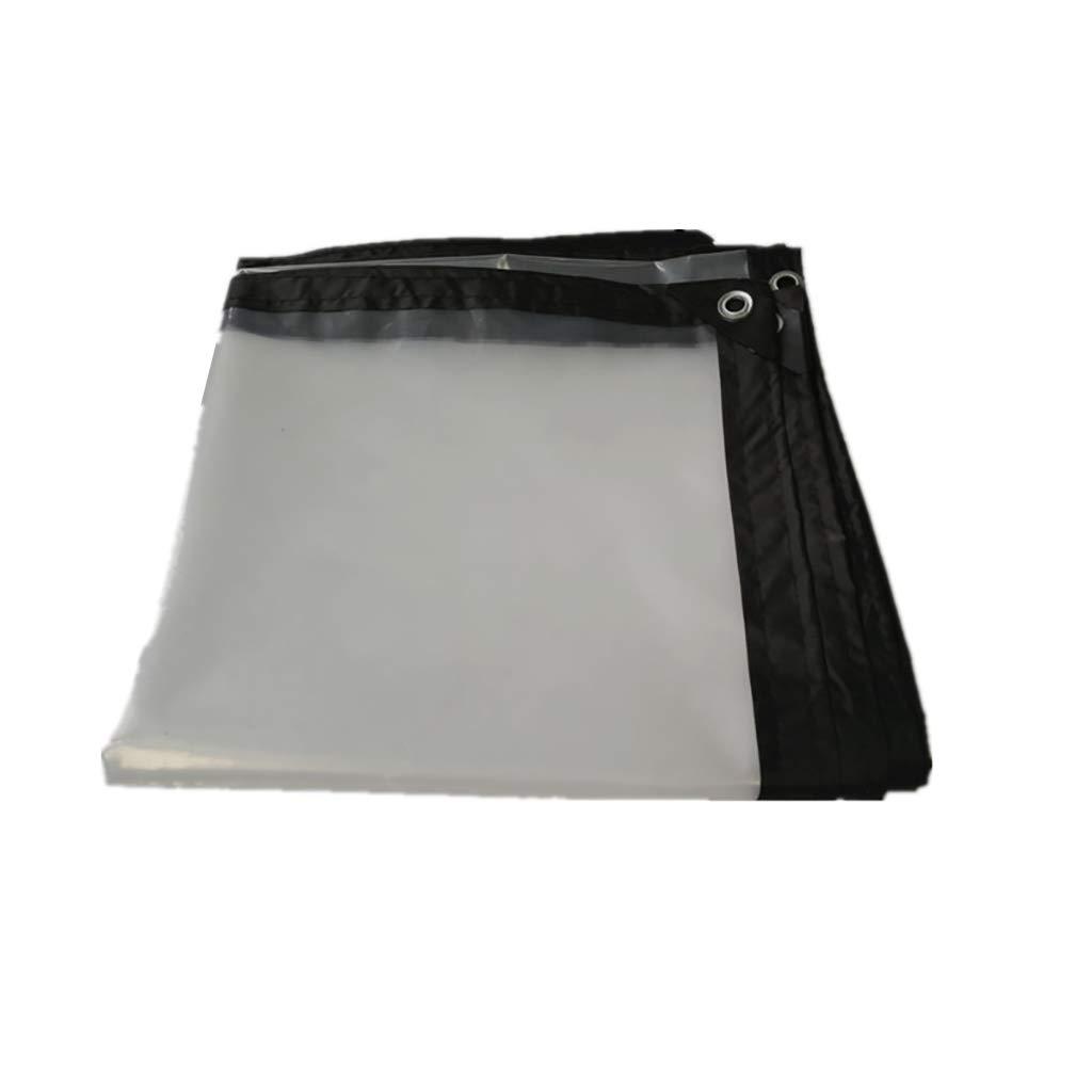 Zeltplanen Regenfestes Tuch Transparente Wasserdichte Plane Markise Schatten Tuch Cold Proof Gewächshaus - Multi Größe Options (größe : 5×5m)