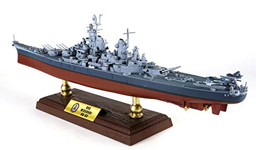 FloZ WWII USS Missouri BB-63 1/700 diecast Model Ship