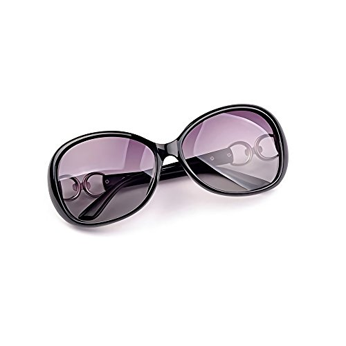 INVOGUE Luxury Women Polarized Sunglasses Retro Eyewear Oversized Goggles Eyeglasses by INVOGUE (Image #1)