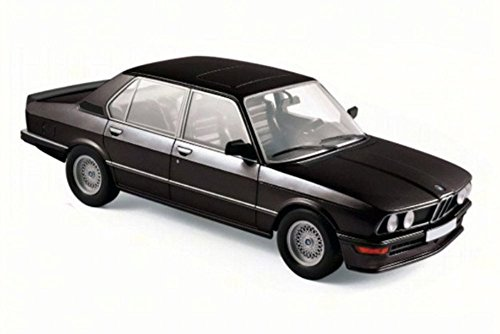 NEW 1:18 W/B NOREV COLLECTION - BLACK 1980 BMW M 535i