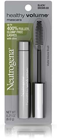 Neutrogena Healthy Volume Mascara, Black/Brown 03, .21 Oz.