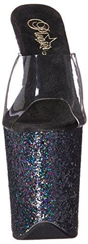Sandaali 801lg Flamingo Blk Miellyttäjä Clr Glitter Musta Clr Naisten Holo 6x4EwT