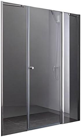 Lux-aqua diseño de mampara de ducha 140 cm PP3-140: Amazon.es ...