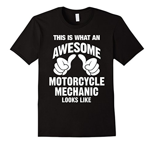Black Mechanics Style Gloves (Motorcycle Mechanic Awesome Looks Like T-Shirt)