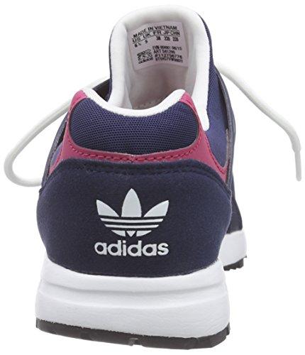 adidas Racer Lite W - Zapatillas de running para mujer Negro / Blanco / Rosa