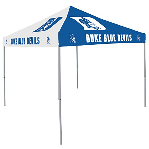 NCAA Duke Blue Devils 9-Foot x 9-Foot Pinwheel Tailgating Canopy, Blue/White