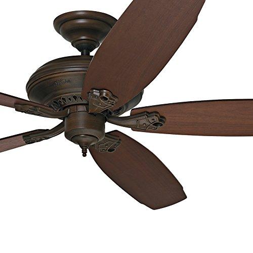 Hunter Fan 64 inch Great Room Ceiling Fan in Cocoa, 5 Blade (Certified Refurbished)