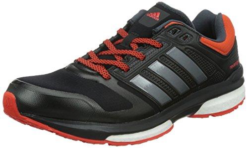 adidas Revenge Boost Climaheat M - Zapatillas para hombre Negro / Gris / Naranja