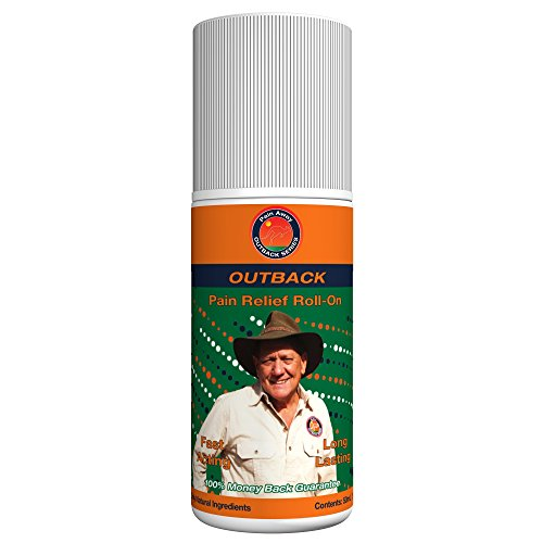 Outback All-Natural Pain Relief – 50mL Roll-On (1.69 fl oz) – Topical Oil Chosen By Sufferers of Neuropathy, Arthritis, Fibromyalgia, Plantar Fasciitis, Back Pain, Sciatica, Tendonitis & Tennis Elbow
