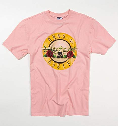 T Classic Guns N Pink Roses From Amplified Drum Shirt AOqTvwxnp6