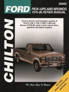 Chilton 26662 Ford Pick-Up & Bronco Repair Manual (1973-1979)