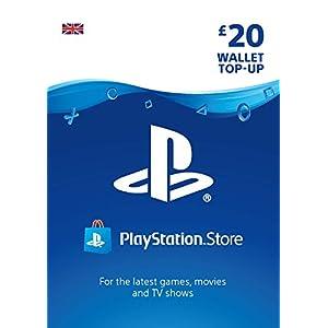 PlayStation PSN Card 20 GBP Wallet Top Up | PS5/PS4/PS3 | PSN Download Code – UK account