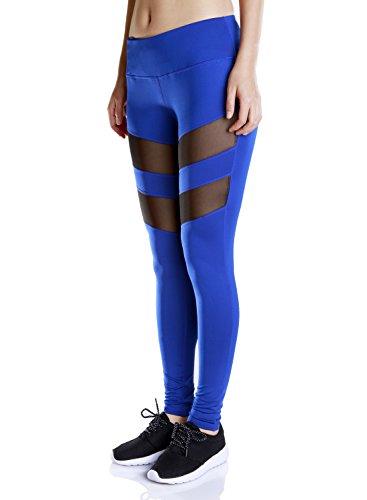 Zerozero - Medias deportivas - para mujer Azul Zafiro