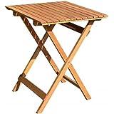 Klapptisch B/T/H ca. 58/58/75  Balkontisch Balkon-Möbel Gartenmöbel Hartholz Tisch quadratisch Garten Mod. DIEGO …