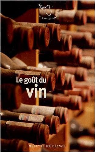 Livre gratuits en ligne Le goût du vin pdf