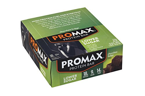 Promax Lower Sugar Protein Bars (Pack of 12)
