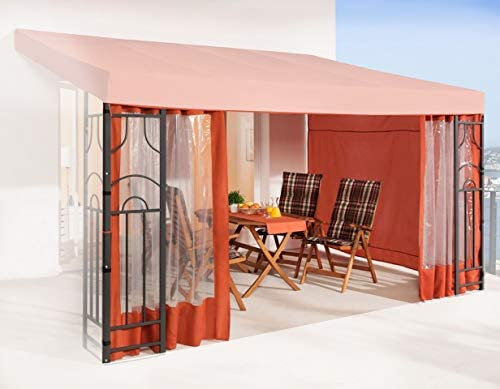 QUICK STAR - Pérgola para Pared Lateral (3 Laterales), Color ...