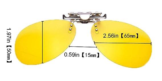 272ab4f8afe Amazon.com  SOOLALA Mirrored Polarized Clip-on Flip up Stainless Steel  Sunglasses Lenses