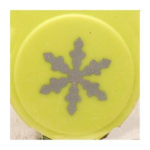 Artemio-1,6 cm, a forma di fiocco di neve, piccola Leva perforatrice di numero 4, colore: verde VIHCP178