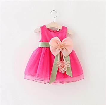 d51aed84941 Amazon.com  VT BigHome Kids Baby Girls Tutu Dress Summer Baby Girl Baptism  Dresses Birthday Party Baby Kids Clothes Infant Party Children Clothing   Kitchen ...
