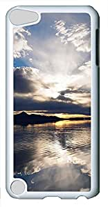 iPod 5 Case Clouds Reflection PC Custom iPod 5 Case Cover White