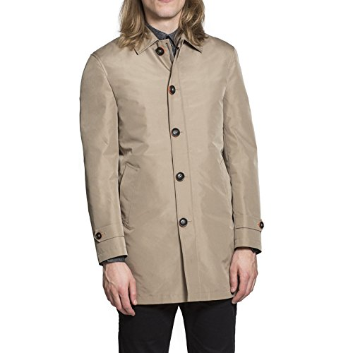 Harry Brown Rain Mac with Detachable Lining in Toffee - Brown Apparel Toffee