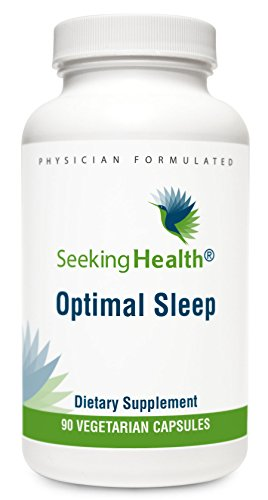 - Seeking Health | Optimal Sleep | 90 Vegetarian Capsules | Sleep Supplement* | Relaxation Supplement | Includes Ashwagandha, Magnesium & Zinc