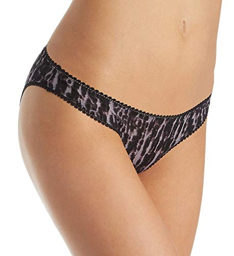 Mesh Low Rise Bikini Panties - OnGossamer Women's Mesh Low-Rise Bikini Panty, Midnight Mood, Medium